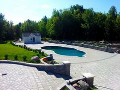 Discover new models of above-ground pools, semi-inground pools, in-ground pools and spas available at your Sima Canada dealer Semi Inground Pools, Pool Installation, In Ground Pools, Fun Stuff, Swimming Pools, Spa, Gallery, Outdoor Decor, Home