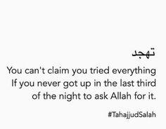 Don't lose hope Night Prayer