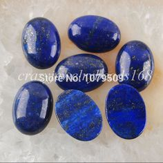 Pas cher Livraison gratuite 13 x 18 mm Lapis Lazuli Gem ovale Cabochon CAB 5 PCS bijoux VN740, Acheter  Perles de qualité directement des fournisseurs de Chine:Free shipping Plum Color Strong Stretchy Elastic String Cord Thread for Bracelet Necklace Jewelry making VH271USD 2.88/p