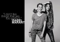 """Isabel Marant took us on a bohemian, American girl, Hawaiin vacation for SS2013. The runway was covered in button downs, paisley, and tropical patterns. It all was a little too easy breezy Forever 21 for me. Isabel designs around the idea, """"I don't like things that are too perfect."""" I would love to ask Ms.Marant why fashionistas should spend thousands of dollars on her unperfect things... #FrenchDesigner #IsabelMarant #FashionDesigner"""