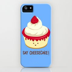 Say CheeseCake! iPhone & iPod Case by AnishaCreations - $35.00