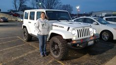 KELLY's new 2017 Jeep Wrangler Unlimited! Congratulations and best wishes from Kunes Country Auto Group of Sterling and Scott Bice.
