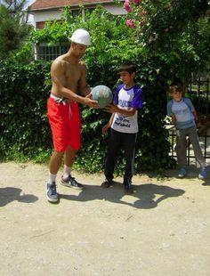Mens basketball player Roberto Nelson in Macedonia, 2011