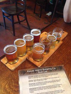 Kauai Hawaii beers sept 2014