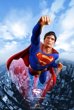 Superman, Christopher Reeve.