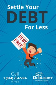 Struggling to pay off debt? Settle debt for less than you owe with Debt Settlement programs. Learn more about how you can become debt free! Finance Quotes, Finance Logo, Paying Off Credit Cards, Get Out Of Debt, Financial Tips, Debt Payoff, Debt Free, Ways To Save Money, Money Management