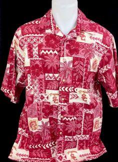 c2b331ee1 Reyn Spooner Large FORD MOTOR Classic Cars Jaguars HAWAII Aloha Rayon Shirt  Vtg #RYENSPOONER #Hawaiian | All For