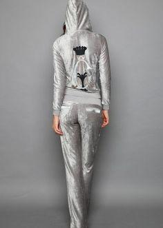 Christian Audigier套装 CA高质量时尚休闲套装 天鹅绒 印花-淘宝网