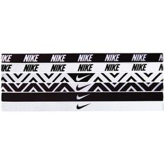 Nike Printed Headbands ($31) ❤ liked on Polyvore featuring accessories, hair accessories, hair, fillers, acc, accessories sport, sports fashion, womens-fashion, nike hairband and nike