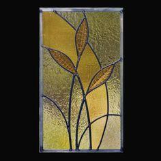 LeadedGlassWorks, Kerrville TX : Seed Pod stained glass window <3