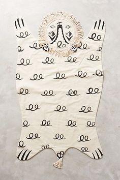 Savannah Lion Blanket #anthrofave #anthropologie