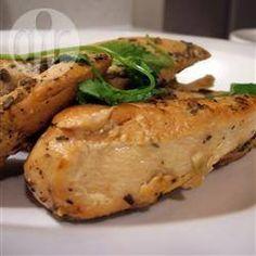 Poitrines de poulet ail et citron, à la mijoteuse