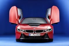 BMW i8 Prototonic Red Edition 2016