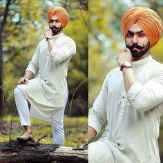 Poo 👑 India Fashion Men, Mens Fashion, Turban Fashion, Kurta Pajama Men, Psychadelic Art, Mens Kurta Designs, Turban Style, Casual Looks, Cute