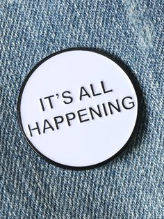 It's All Happening Enamel Pin - Gypsy Warrior …