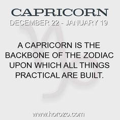 Fact about Capricorn: A Capricorn is the backbone of the zodiac upon which all... #capricorn, #capricornfact, #zodiac. More info here: https://www.horozo.com/blog/a-capricorn-is-the-backbone-of-the-zodiac-upon-which-all/ Astrology dating site: https://www.horozo.com