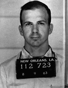 Lee Harvey Oswald, supposed assassin of JFK.