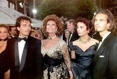 Sophia Loren lors de la cérémonie des Oscars.