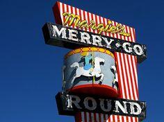 Margie's Merry Go Round Restaurant sign