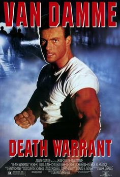 Jean-Claude Van Damme in Death Warrant Best Action Movies, Great Movies, 90s Movies, Movie Tv, Latest Movies, Jc Van Damme, Robert Guillaume, Claude Van Damme, 1980s