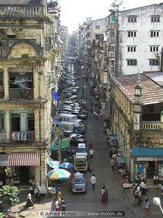 Yangon, Myramar