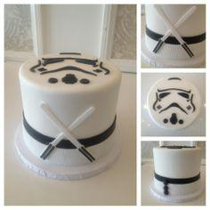 Storm Trooper cake by Vanilla Bake Shop