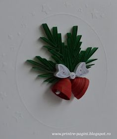 Paper Quilling Earrings, Paper Quilling Flowers, Paper Quilling Cards, Origami And Quilling, Paper Quilling Patterns, Quilling Paper Craft, Quilling 3d, Paper Crafts, Quilling Christmas