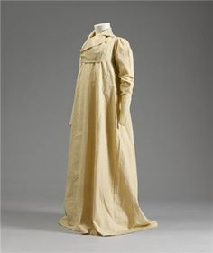 Girl's redingote, probably for summer walking or riding, 1810's.