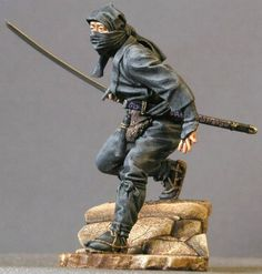 Ninja toy soldier.