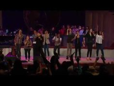 """Israel & New Breed featuring Yolanda Adams sings """"It's Not Over (When God Is in It)"""" from the album """"Jesus At The Center"""" at Lakewood Church in Houston, TX. (August 2012)"""