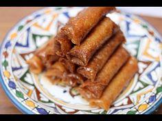 Cigares croustillants amande, miel et fleur d'oranger - HerveCuisine.com