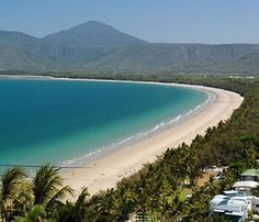 Four mile long Beach at Port Douglas, Australia. A superb, relaxing destination if you want to check out the Great Barrier Reef or Daintree Rainforest. Coast Australia, Australia Travel, Queensland Australia, Places To See, Places To Travel, Travel Destinations, Travel Around The World, Around The Worlds, Out Of Touch