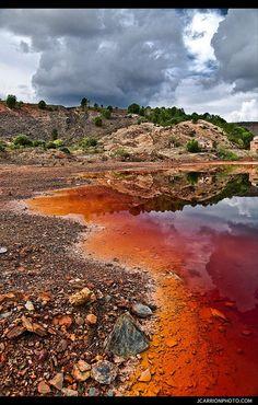 Le Rio Tinto en Espagne