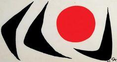 Alexander Calder - Around the sun, 1963