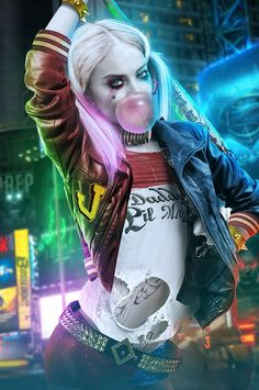 'Suicide squad - Harley Quinn' will be a perfect phone case for you. 'Suicide squad - Harley Quinn' phone case will protect and prettify your phone and it will talk about you! Harley Quinn Et Le Joker, Margot Robbie Harley Quinn, Harley Quinn Cosplay, Marvel Dc, Dc Comics, Harley Quinn Disfraz, Fan Art, Vinyl Banner, Harey Quinn