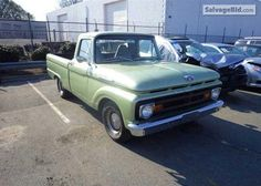 1962 FORD F100 VIN: F10C8273748