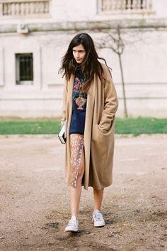 Paris Fashion Week AW 2014....Chiara Totire by Vanessa Jackman