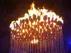 2012 London Olympic Cauldron at the Opening Ceremony