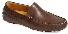 Sperry Top-Sider® 'Gold Cup - Kennebunk' Slip-On (Men), Rich leather shapes a handsome driving shoe detailed with meticulous contrast stitching. The Gold Cup Collection takes the inimitable Sperry style to the next level with hand-burnished leathers, meticulous design and 18K gold-plate details for a touch of shine to seal the deal.