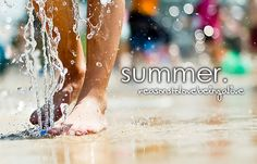 My favorite season<333 I love it so muchhh :))) shorts, tan tops, swimming, sun, & no school. Yeahh(: