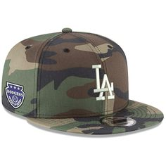 6fcce1acbcceba Men's Los Angeles Dodgers New Era Camo Military Patch 9FIFTY Snapback Hat,  Your Price