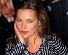 Happy Birthday Kate Moss!! We're celebrating the icons 41st birthday with a round up of 25 incredible rare photos you've probably never seen. // Kate Moss at Macy's Department Store Promoting Calvin Klein Jeans