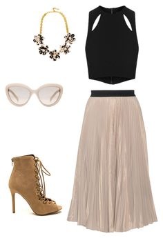 """""""Untitled #2"""" by sunnysideup-xd on Polyvore featuring Topshop, Tome, BaubleBar and Prada"""