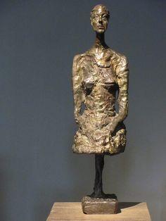 Alberto Giacometti - Annette, 1958. Bronze