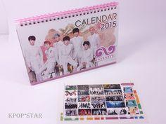 INFINITE 2015 2016 Desk Calendar (with Sticker ) New Year K-POP Korean Pop Korea