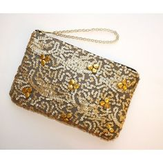 """Selling this """"Gold sequin clutch matte gold beaded clutch"""" in my Poshmark closet! My username is: milascloset. #shopmycloset #poshmark #fashion #shopping #style #forsale #the resort collection #Clutches & Wallets"""