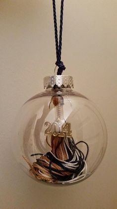 While browsing the web after graduation, I came across this great idea for making ornaments from your graduation tassel. After preserving my...