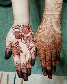 Beautiful Henna Designs, Dulhan Mehndi Designs, Beautiful Mehndi, Latest Mehndi Designs, Simple Mehndi Designs, Bridal Mehndi Designs, Mehndi Art, Henna Mehndi, Mehndi Design Pictures