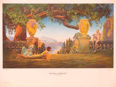 Original Vintage Roy Grossman Garden of Melody Print by HodesH