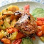 FotoRecept | Králik pečený so zeleninou - NajRecept.sk